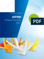 AIFMD Re Shaping for the Future 4th Edition March2014