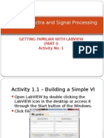 Getting familiar with LabView
