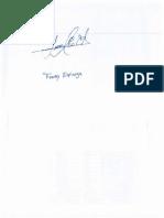 Firma Freddy Espinoza