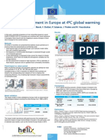 Flood risk assessment in Europe at 4ºC global warming