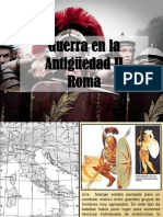 Guerra en La Antiguedad II-Roma