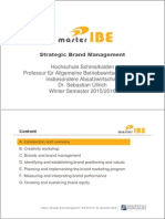 Strategic Brand Management - Part 01