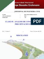 07052015 CLASE 5 Analisis de Consistencia