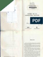 Teoría de La Literatura Infantil_Juan Cervera