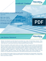 Alembic 05Investor Presentation