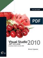 Visual Studio 2010, NET 4.0 y ALM - Bruno Capuano