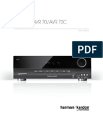 Owner Manual - AVR70 (English)