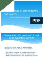 Clase 9 Estadísticas e Indicadores Culturales