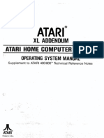 Atari XL Addendum - OS Manual