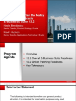 10 Things You Can Do Today to Prepare for Oracle EBS 12.2