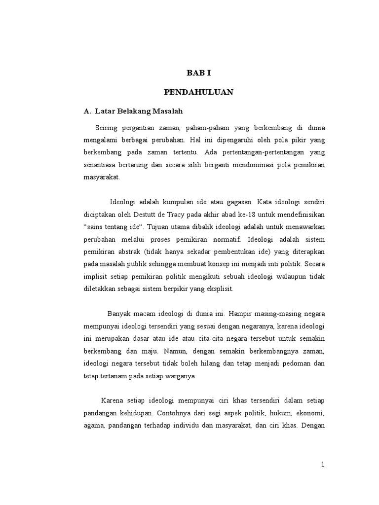 Kumpulan Soal Pelajaran 4 Contoh Abstrak Makalah Pancasila