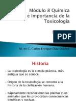 Historia e Importancia de La Toxicología