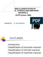 Classification Maceral