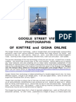 Google Street View Photographs of Kintyre and Gigha Online