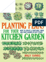 Planting Plans for Your Kitchen Garden How to Create a Vegetable, Herb and Fruit Garden in Easy Stages