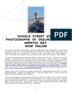 Google Street View Photographs of Skelmorlie and Wemyss Bay Online