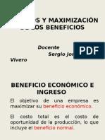 8.Ingresos y Maximizacion de Beneficios