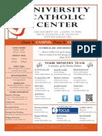 UCC Bulletin 10-18-2015