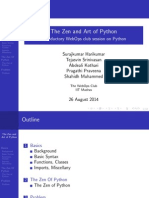 Zen and the Art of Python