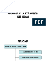 MAHOMA Y LA EXPANSIÒN DEL ISLAM