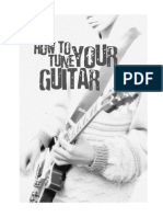 jam afinacion de la guitarra