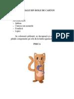 Animale Din Role Carton