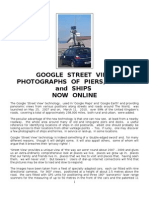 Google Street View Photographs of Piers, Docks and Ships Online