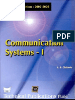 Communication Systems by Chitode