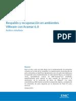 Respaldo y Recuperación en Ambientes VMware Con Avamar 6.0