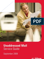 Australia Post Unaddressed Mail Service Guide