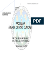 programa de ciencias clínicas 2