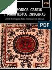 Testimonios, Cartas y Manifiestos Indígenas - Lienhard