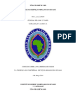 U.S. Africa Command (AFRICOM) Posture Statement Portuguese Version