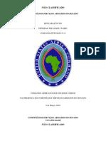 U.S. Africa Command (AFRICOM) Posture Statement Portuguese Version