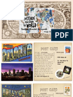 postcards around the world  honors biology biome project