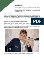 Qué Le Pasa a Magnus Carlsen