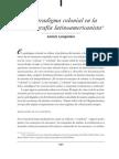 El Paradigma Colonial en La Historiografía Latinoamericanista - Lempériere