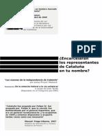 Las razones de la independencia de Cataluña