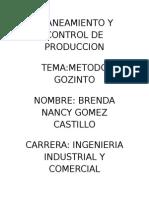 Planeamiento y Control de Produccion Cartula