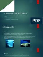 Cinemática de Los Fluidos