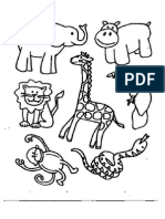 5027 Animals Coloring