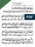 Liszt Paganini La Campanella Busoni Edition