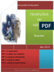 Dossier Tecnología de Gestión