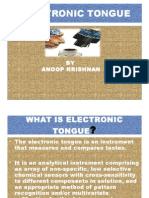 Electronic  toungue.ppt