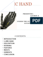 Bionic Hand That Can Feel (1)