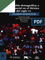 Cambio Demográfico y Social en El México Del Siglo XX_Coubés Et. Al
