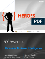 T1 - S3 - SQL Server 2008 Business Intelligence Platform