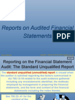 Audit I Reporting WF in Class