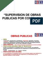 Supervision de Obra Por Contrata