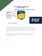 Admin Law Project